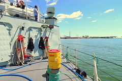 HMCS Toronto Tour (Redpath Waterfront Festival) (wyliepoon) Tags: downtown toronto hmcs ship halifax class frigate canadian forces royal navy redpath waterfront festival 2017 canada day 150 canada150 harbourfront harbour