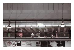 waiting for the train (kurtwolf303) Tags: vienna wien austria centralstation hauptbahnhof people leute menschen österreich europe railwaystation urban urbanlifeinmetropolis streetphotography unlimitedphotos scenery olympusem1 omd microfourthirds micro43 mft systemcamera mirrorlesscamera spiegellos kurtwolf303 frame rahmen 250v10f topf25 500v20f topf50 750views 900views topf75 1000v40f