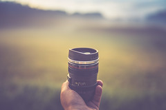 """C"" like Canon...or Coffee :) (der_peste) Tags: bokeh dof coffee canon canonllens mug cup fun blur hand holding perspective sonya7m2 sel35f14z 35mm f14"