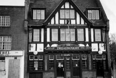 The Dreadnought, Deptford, London, SE8 (Matt the Londoner) Tags: dreadnought lowerroad deptford se8 pub closedpubs deptfordpubs demolished lostlondon londonpubs oldpubs oldlondon pubs pubsindeptford