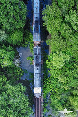 CSX Train_DJI_0064 (RJJPhotography) Tags: southerngeorgia georgia landscape aerials dji djiphantom4pro csx train