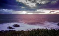Magic sunset (JuanPablo V.O.) Tags: sunset atardecer colores larga exposicion playa beach