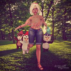Gnomes! (Rosemaery Lorefield ♥ The Royal Bohemian) Tags: catwa atomic gosee menonlymonthly livia twe12ve pinkacid monso yummy maitreya ktcreatorsfestival furtacor designershowcase hillyhaalan fashiowlposes lttlsmllstyl bodylanguage