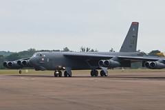 Boeing B-52H Stratofortress 60-0022 USAF (Jarco Hage) Tags: byjarcohage aviation airschow airplane riat royal international air tattoo fairford uk egva heavy bomber boeing b52h stratofortress 600022 usaf