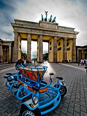 "Party bike at the gates • <a style=""font-size:0.8em;"" href=""http://www.flickr.com/photos/44919156@N00/35764488916/"" target=""_blank"">View on Flickr</a>"