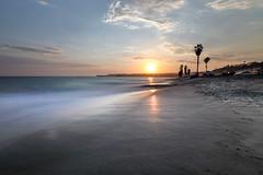 (sosidesc) Tags: sunset beach reflection capo