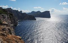 Cap Formentor (real ramona) Tags: majorca mallorca spain coast rocks cliff sea ocan sun sky peninsular