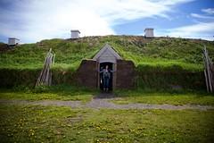 Hobbit Hole (cookedphotos) Tags: canon 5dmarkii newfoundland lanseauxmeadows viking village replica historical site encampment
