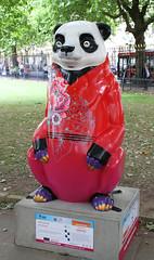Peony Passion (ahisgett) Tags: birmingham children's hospital charity wild art big sleuth 2017 bearmingham bear