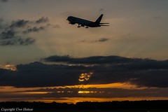 Good Night HAJ 02072017 (U. Heinze) Tags: aircraft airlines sky haj hannoverlangenhagenairporthaj eddv planespotting plane flugzeug nikon