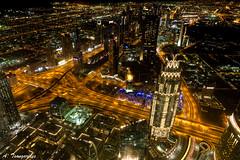The view from the top!!! (andreas.tsangarides) Tags: nikon nikond500 night nightphotography nightcolours citylights longexposure angle wideangle dubai uae dubaimall travel travelphotography