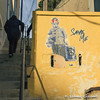 Stairway (Lionelcolomb) Tags: marseille provencealpescôtedazur france fr stairway carré square jaune yellow street art human canon sigma save me politic perspective urban children graphic line ligne