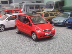 Mercedes A-class (quicksilver coaches) Tags: mercedes aclass realx 172 176 oo diecast model
