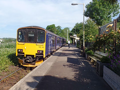 150108 Penmere (Marky7890) Tags: gwr 150108 class150 sprinter 2t7 penmere railway cornwall maritimeline train