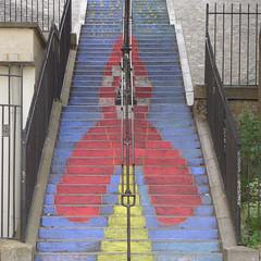 170527b1 (bbonthebrink) Tags: paris montmartre streetart tintin herge kidsart