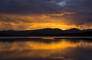 Loch Tulla Sunset ~ Explored