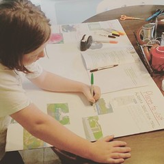 This project (Alabama) is coming together, oh-so-slowwwwwwwly. #Alabama #fifthgrade (Jenn ♥) Tags: ifttt instagram