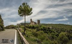 Pano Sta Perpetua (Jordi Castellà) Tags: santaperpetua gaia pontils concadebarbera conca castell castle church ruines ruins