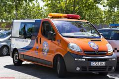 Opel Vivaro. SAMER (juanemergencias) Tags: madrid españa spain ambulance ambulancia emergencia emergency rescue rescate 112 911 car vehiculo vehicle coche pc proteccióncivil samer samerlasrozas lasrozas furgoneta furgon opel vivaro opelvivaro