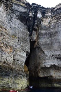 Cuevas en las rocas