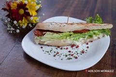 010-gastronomia-sanduiche-adilson-moralez (Adilson Moralez Fotografia) Tags: wheat alimento culinária gastronomia organics prato sanduiche sandwich