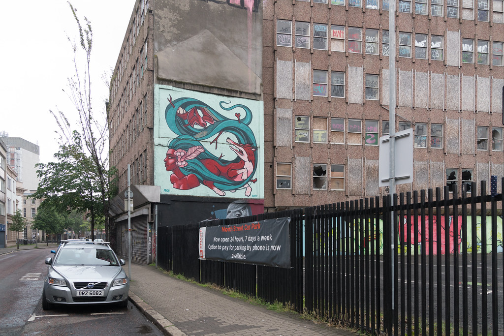 STREET ART AND GRAFFITI IN BELFAST [ANYTHING BUT THE FAMOUS MURALS]-129173