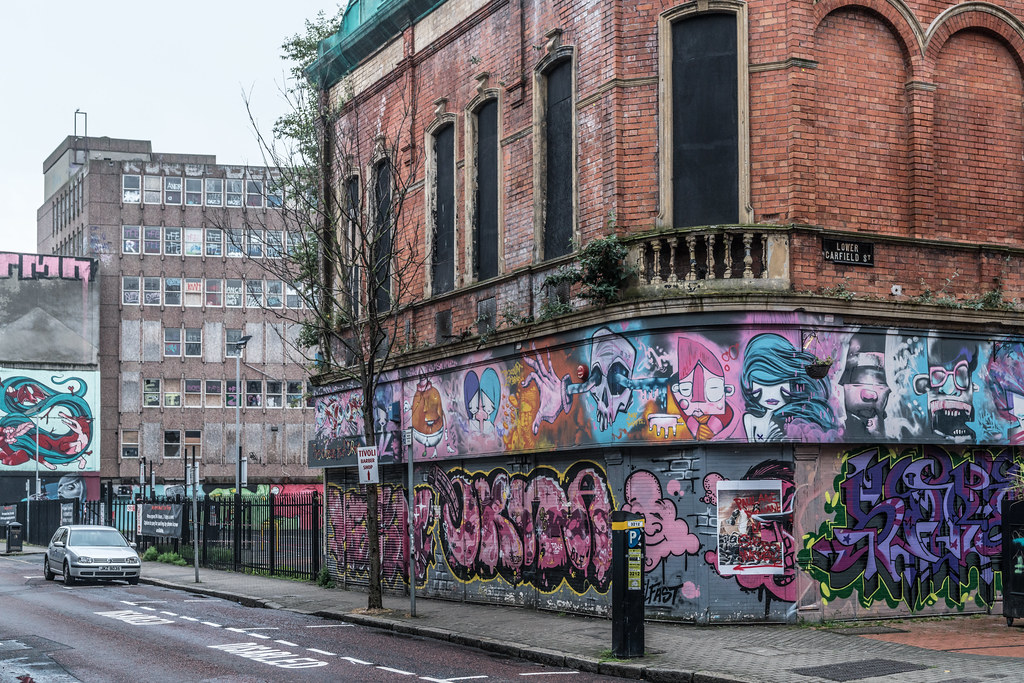 STREET ART AND GRAFFITI IN BELFAST [ANYTHING BUT THE FAMOUS MURALS]-129179
