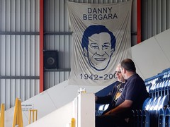 The Local Hero (deltrems) Tags: dannybergara danny bergara hero stockport greater manchester football ground stand county edgeleypark edgeley park beer cider festival stockportbeerandciderfestival camra