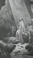 Daniel Was a Cat Person (MTSOfan) Tags: daniel prophet lionsden gustavdore art illustration plate thedorebiblegallery forfutureuse