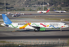 HA-LXJ (QC PHOTOGRAPHY) Tags: madridbarajassuarez spain apr 7th 2017 wizz air budapest candidate city olympic games 2024 a321200wl halxj