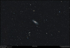 M106 and Friends (Terry Hancock www.downunderobservatory.com) Tags: qhy qhy367c coldmos cmos sky astronomy astrophotography