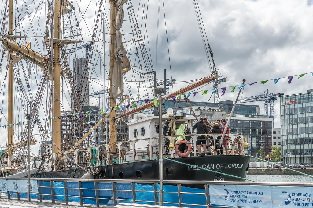 PELICAN OF LONDON [TALL SHIPS LEAVING DUBLIN PORT TUESDAY JUNE 6 2017]-129373