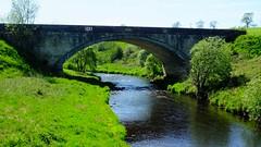Strathaven 05 (byronv2) Tags: rural countryside clydevalley scotland strathaven rnbavon avon river riveravon water bridge stonebridge arch stonearch