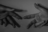 Reaching (morgantbphotography) Tags: photo photograph photooftheday photography dark black vignette white vein hand finger fingers hands veins body bodyscape canon lightroom edit student inspire work worklife piece skin model bone monochrome neck collarbone face eye eyes eyelashes define water