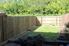 Fenced In (Epochend) Tags: fence fences fencing garden grass trees