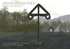 Midsummer Tree (Del-ka Aedilis) Tags: midsummer vikings garden landscape decor