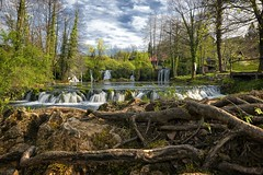 0521 Rastoke (Hrvoje Simich - gaZZda) Tags: water waterfalls sky clouds blue green white landscape outdoor trees river lake rastoke croatia slunjcica europe travel nikon nikond750 sigma2414 hrvojesimich gazzda