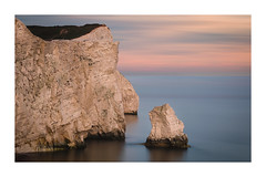 Seaford_Head_stack (Adeypoos) Tags: stack cliffs sunset pastel calm seascape adrianpollardphotography beautiful englishchannel