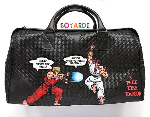 Street fighter ken Ryu Kanye mash up bottega-02 copy