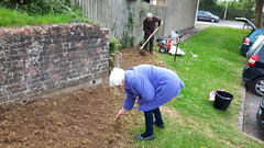 MHA wildflower project 2017 (Keep Wales Tidy) Tags: wildflowers sowing rsl