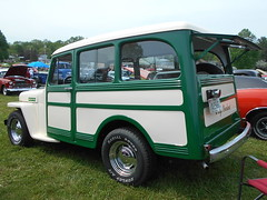 1949 Willys Wagon (splattergraphics) Tags: 1949 willys wagon stationwagon jeep carshow cuzwecare conowingomd