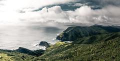 Cape Reinga - New Zealand (Max Pa.) Tags: new zealand neuseeland cape reinga travel water wasser landscape landschaft natur nature berge mountain wolken clouds grün green trees canon 5d 2470mm