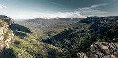 Blue Mountains - Australia (Max Pa.) Tags: blue mountains australia australien landscape landschaft canon 5d 2470mm panorama green trees light clouds travel new south wales
