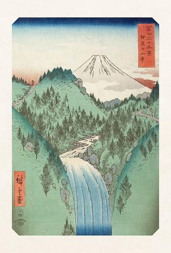 05-Carte postale // 10x15cm // Cascade
