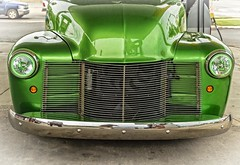 Chevy Custom #2 (Kool Cats Photography over 9 Million Views) Tags: green car vehicle 1949 chevy custom truck pickup