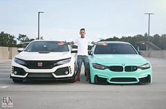IMG_5133 (EVN Imageries) Tags: m3 bmw bagged 201wrap ctr civictyper typer f80 fk8