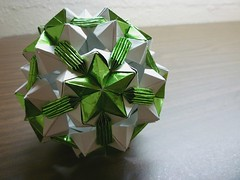 Personal creation (Zapper Slapper) Tags: origami kusudama paper folding art