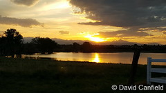 May 31, 2017 - Sunset reflections. (David Canfield)q