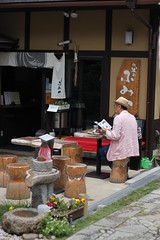 eccentric (chunsa88) Tags: japan kyoto hipster pipe smoker pipesmoker cafe chunsa88