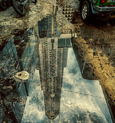 Bayoke Tower (Julien Cha.) Tags: reflexion bangkok krungthep bayoke